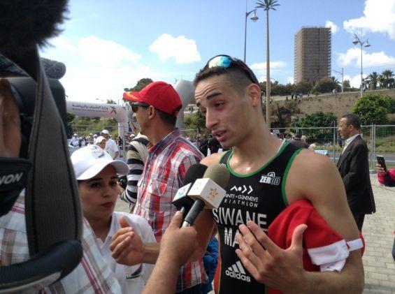 Championnat du monde de Triathlon : Une panne mécanique prive le Marocain Badr Siwane de continuer la compétition