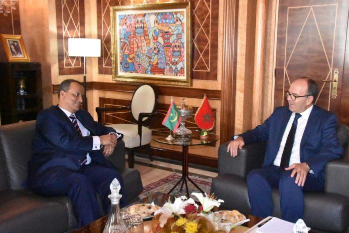 Les moyens de consolider la coopération bilatérale au centre d'entretiens maroco-mauritaniens à Rabat