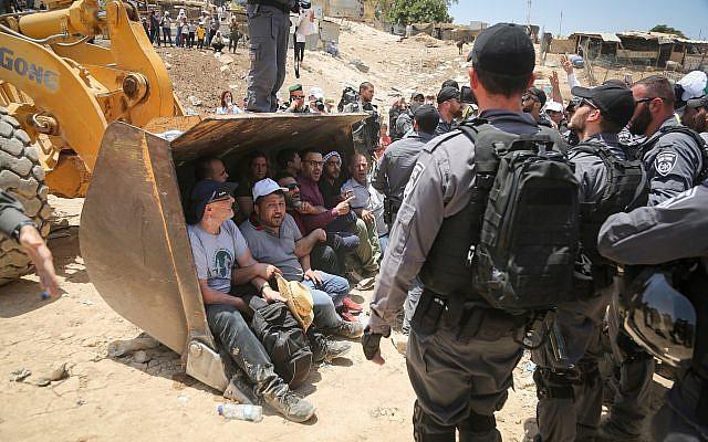 La Belgique appelle Israël à ne pas démolir le village palestinien de Khan al-Ahmar