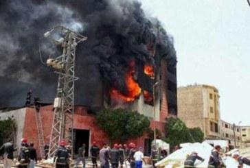Kénitra : Incendie dans une usine spécialisée dans la transformation de la betterave sucrière