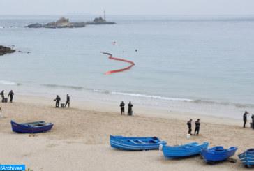Avortement par la marine royale d'une opération d'émigration clandestine