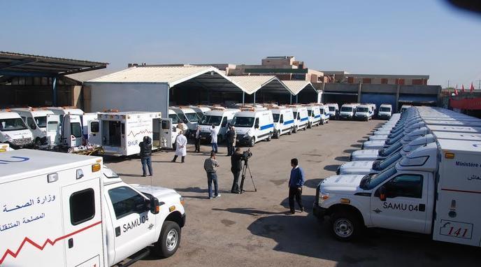 La Direction régionale de la santé à Casablanca-Settat affirme ne disposer d'aucun parking pour garer de nouvelles ambulances