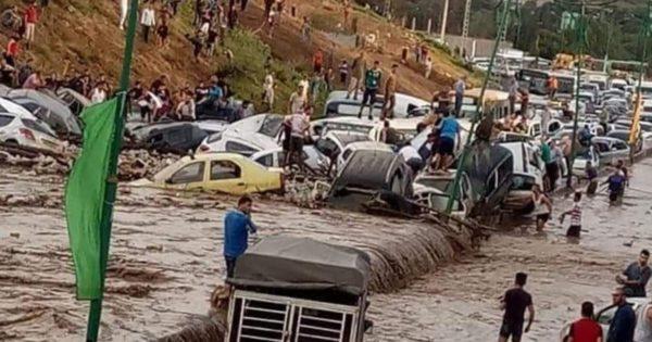Deux morts et plusieurs blessés dans des inondations à Constantine