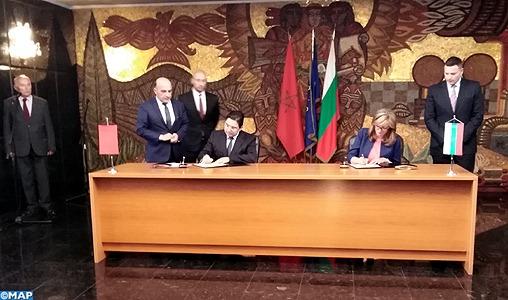 Signature d'un mémorandum d'entente entre le Maroc et la Bulgarie