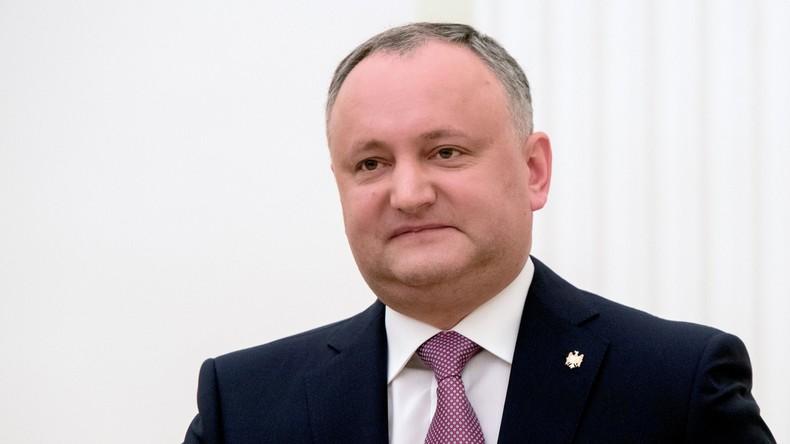 Le président moldave hospitalisé après un accident de la route