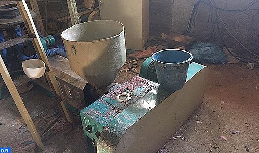 Province de Benslimane : Démantèlement d'un atelier clandestin de fabrication de sacs plastiques interdits