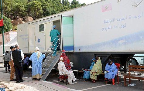 une caravane médicale
