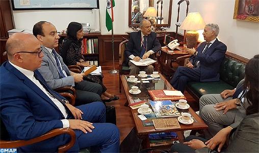 Étude à New Delhi de l'ouverture d'une liaison aérienne directe Maroc-Inde