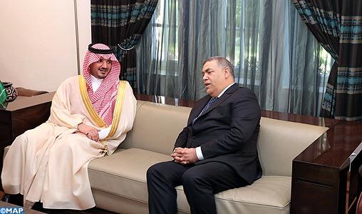 Abdelouafi Laftit s'entretient à Rabat avec son homologue saoudien