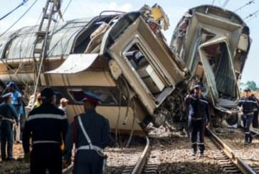 Déraillement du train: Communiqué officiel de l'ONCF