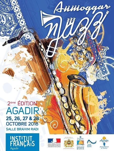 L'ANMOGGAR N JAZZ investit Agadir du 25 au 28 octobre de 2018