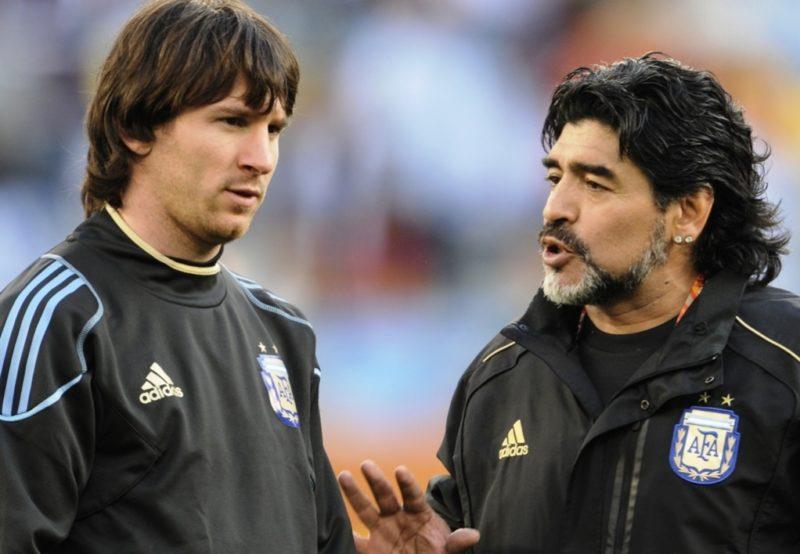 Argentine: Maradona conseille à Messi de renoncer à la sélection nationale