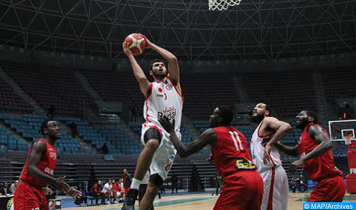 Basketball: Championnat arabe des clubs (Messieurs/Gr. B): l'AS Salé bat le club libanais Homentmen (77-64)