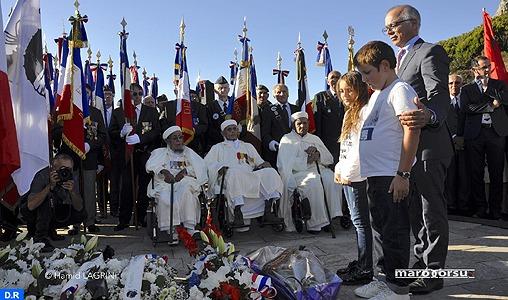 Vibrant hommage à Bastia à la mémoire des soldats marocains ayant combattu pour la libération de la Corse