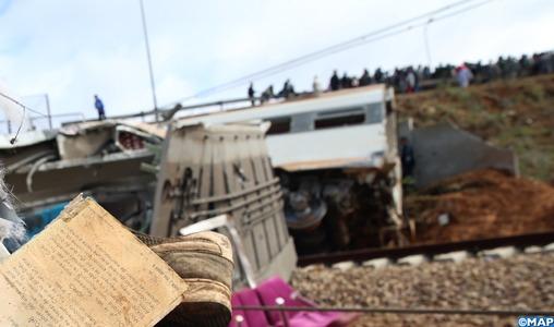 La Commune de Bouknadel sous le choc après le déraillement mortel d'un train de voyageurs