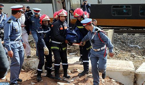 Déraillement d'un train à Bouknadel: Sept décès sont à déplorer pour l'instant