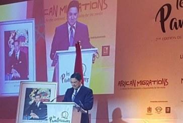 """Nasser Bourita aux Panafricaines: """"Si l'Afrique bouge, sa perception par l'Autre, elle, stagne !"""""""