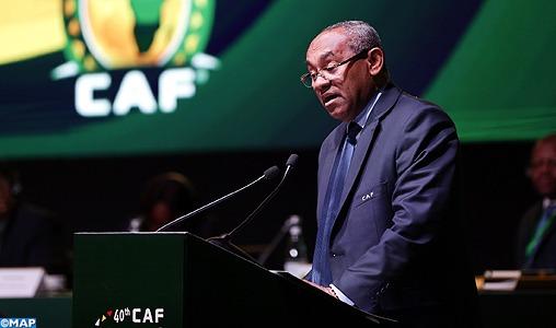La CAF n'a jamais songé à un retrait de la CAN au Cameroun