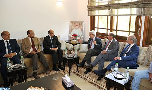 Le président du CORCAS s'entretient à Rabat avec une délégation de journalistes chiliens