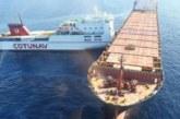 Opération de dépollution au large du Cap Corse suite à une collision entre deux navires