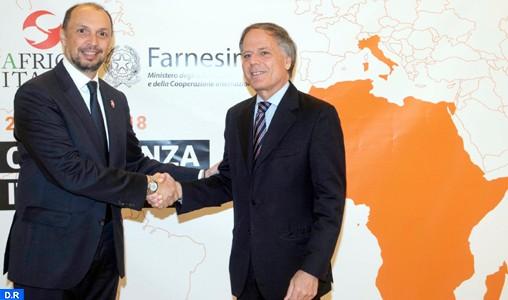Ouverture de la 2ème Conférence ministérielle Italie-Afrique avec la participation du Maroc