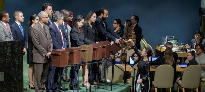 L'Assemblée générale de l'ONU élit 18 États au Conseil des droits de l'homme