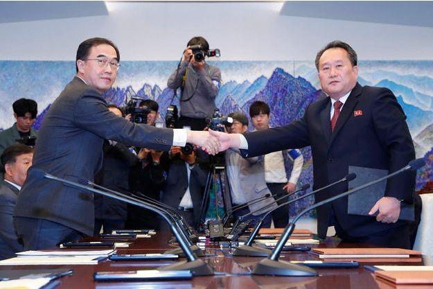 Inauguration prochaine des travaux de connexions ferroviaire et routière entre les deux Corées