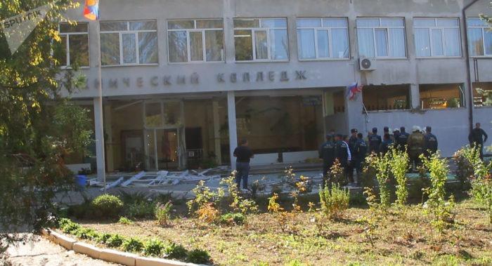 Dix morts et 50 blessés suite à une explosion dans un lycée en Crimée
