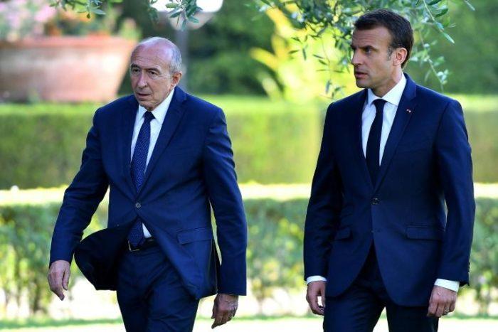 Emmanuel Macron rejette la démission du ministre de l'Intérieur, lui renouvelle sa confiance