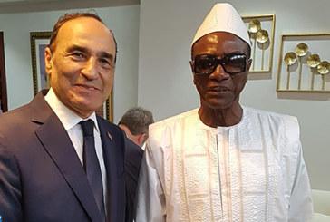 Habib El Malki reçu par le président guinéen