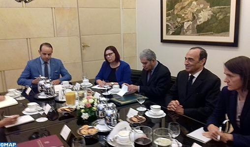 Habib El Malki s'entretient à Varsovie avec le ministre polonais des Affaires étrangères