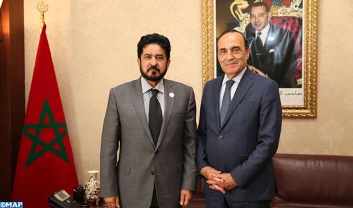 El Malki souligne la nécessité d'impulser davantage les relations parlementaires maroco-émiraties