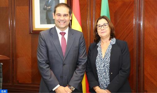 L'Agence nationale des ports et le port de Huelva signent un accord de partenariat