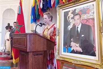 Etats-Unis: Lalla Joumala Alaoui met en avant la vision holistique de SM le Roi pour un Maroc moderne