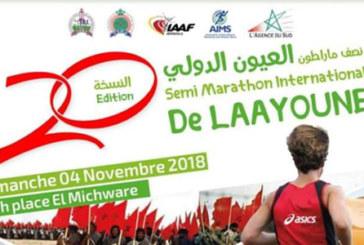Le 20è semi-marathon international de Laâyoune, le 4 novembre prochain