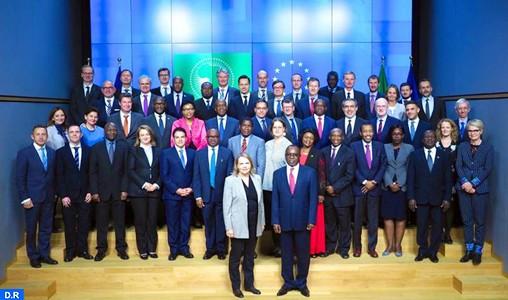 Réunion conjointe UE-UA: le Maroc défend l'interdépendance entre paix, sécurité et développement