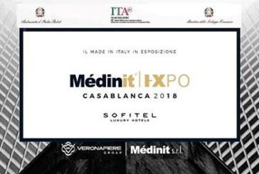 """Présentation à Casablanca de la 9è édition du Salon Italien du design, """"Médinit Expo''"""