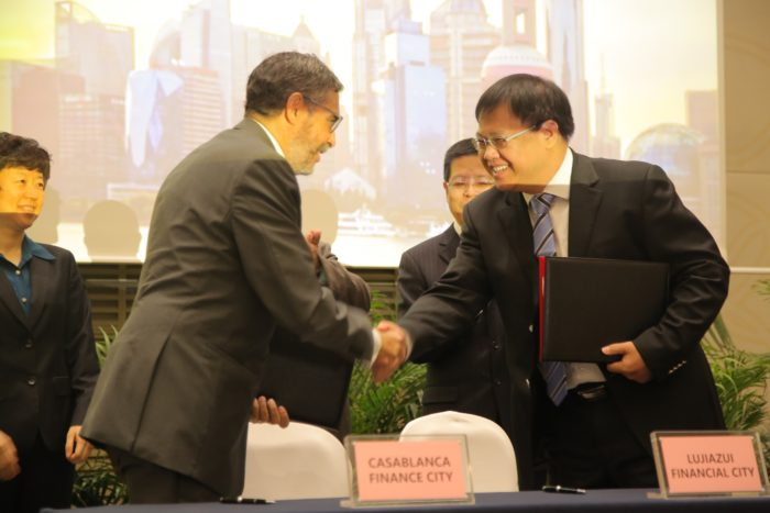 Casablanca Finance City signe un partenariat avec le centre financier de Shanghai
