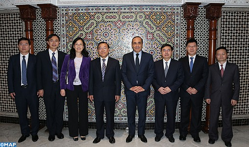 Investissement: le vice-ministre chinois satisfait des garanties offertes par le Maroc
