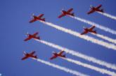 Des shows aériens en clôture du 6ème Salon international de l'aéronautique et du spatial de Marrakech