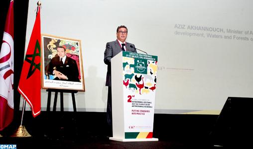 2ème conférence mondiale de l'OIE sur l'antibiorésistance entame ses travaux à Marrakech