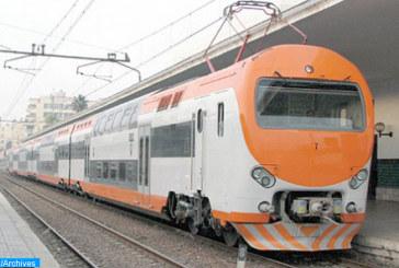 Rétablissement partiel du trafic des trains entre Salé et Kénitra