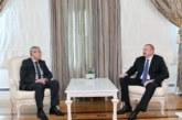Mohamed Ben Abdelkader reçu par le Président azerbaïdjanais