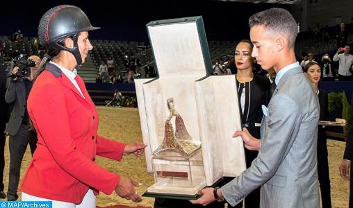 El Jadida: SAR le Prince Héritier préside la cérémonie de remise du Grand Prix SM le Roi Mohammed VI de saut d'obstacles