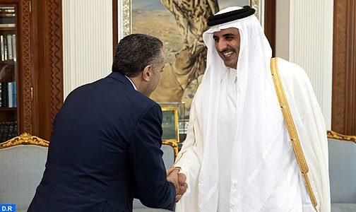 M. Abdellatif Hammouchi reçu par l'Emir du Qatar
