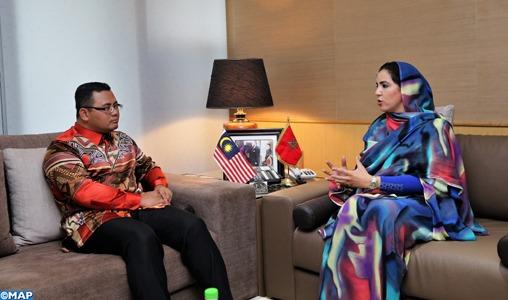 Rabat: Entretiens maroco-malaisiens sur les moyens de promouvoir les relations commerciales