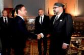 SM le Roi reçoit Moulay Hafid Elalamy et le PDG du groupe Renault