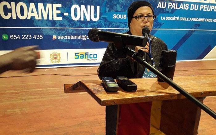 Samira Yassni Jirari désignée représentante de l'Alliance internationale des femmes auprès de l'UA