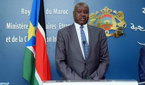 Le Soudan du Sud exprime son soutien à l'intégrité territoriale du Royaume