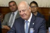 L'envoyé onusien pour la Syrie, Staffan de Mistura, annonce sa démission